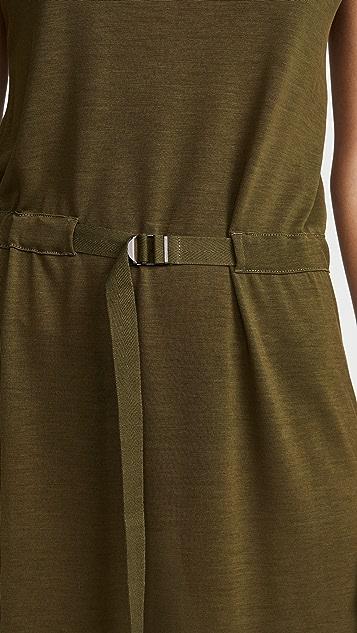 Rag & Bone Rower Belted Midi Dress