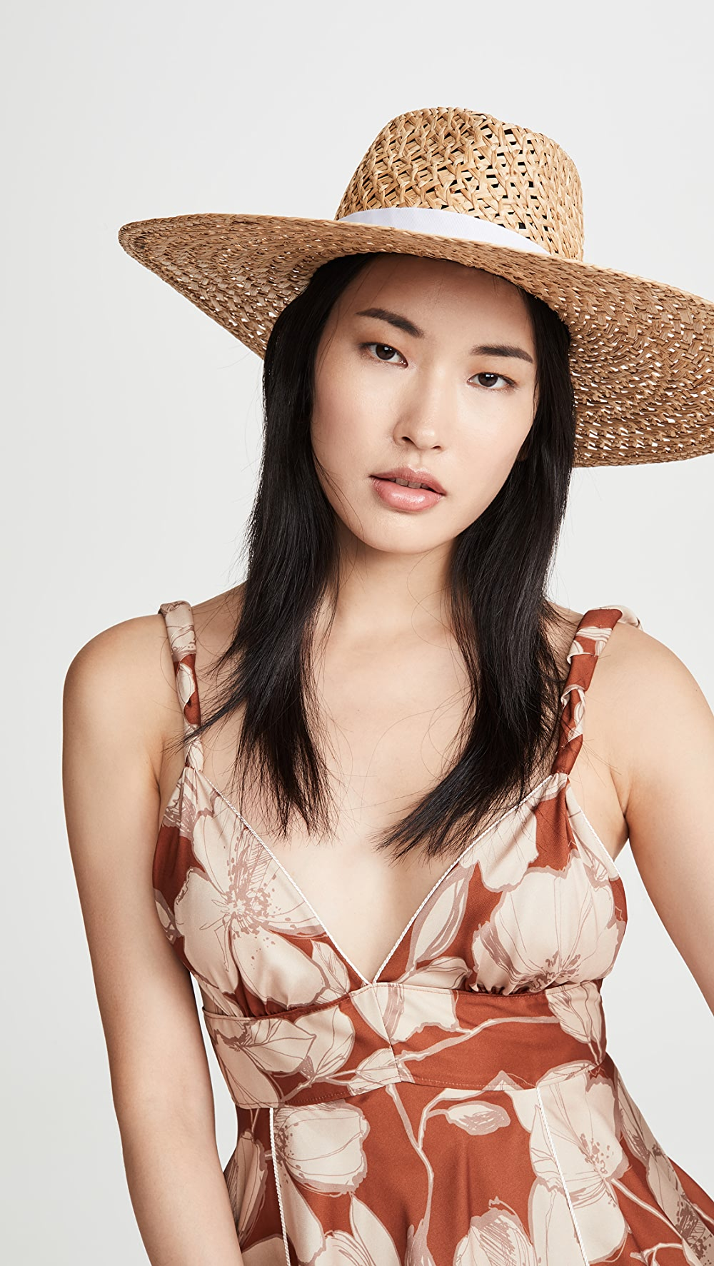 Candid Rag & Bone - Open Weave Wide Brimmed Hat Large Assortment