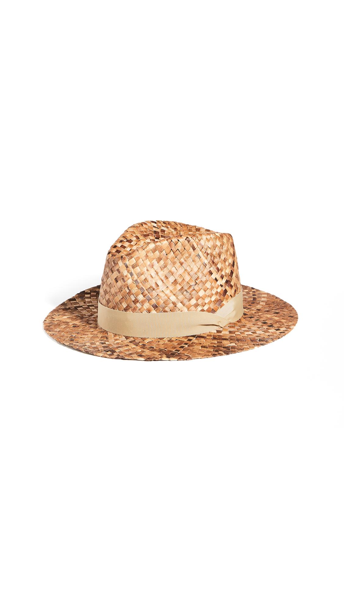 Rag & Bone Coconut Straw Fedora
