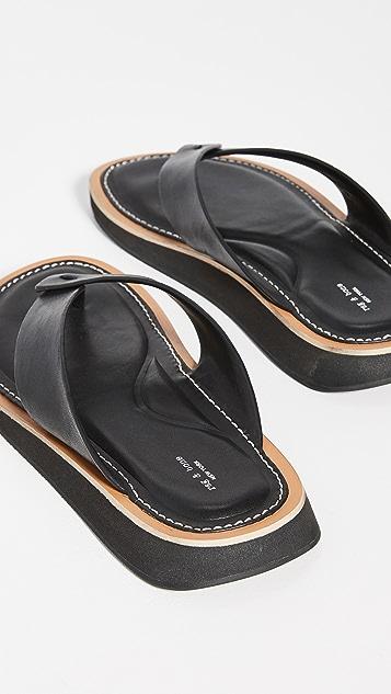 Rag & Bone Parker 夹趾凉鞋