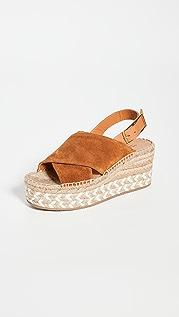 Rag & Bone Tari 坡跟凉鞋