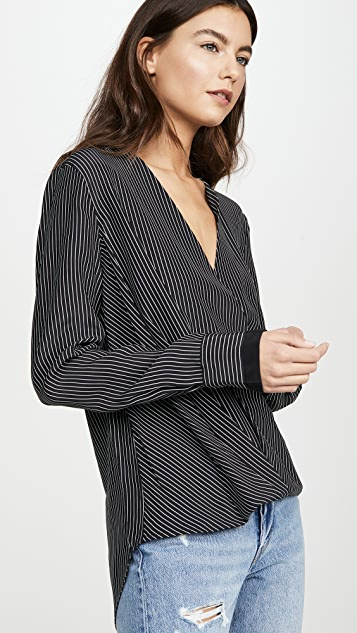Rag & Bone Victor 细条纹女式衬衫