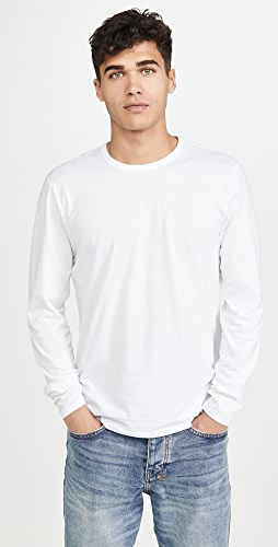 Rag & Bone - Long Sleeve Classic Base Tee