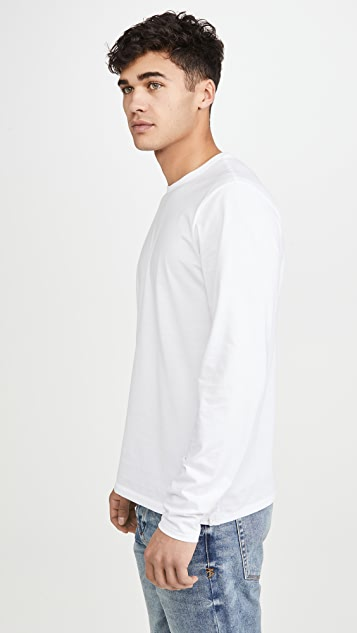 Rag & Bone Long Sleeve Classic Base Tee