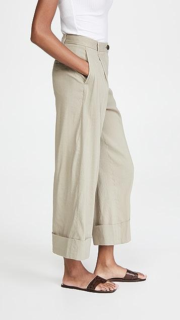 Rag & Bone Ivy Linen Culottes