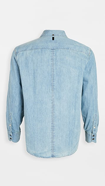 Rag & Bone Fit 3 Denim Shirt