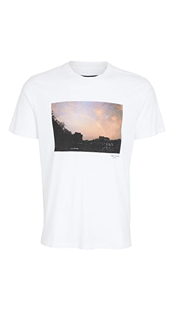 Rag & Bone Rainbow Photo T-Shirt