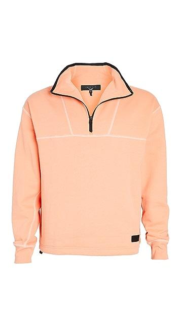 Rag & Bone Scuba Pullover Anorak Sweatshirt