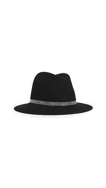 Rag & Bone 松软帽檐费朵拉帽