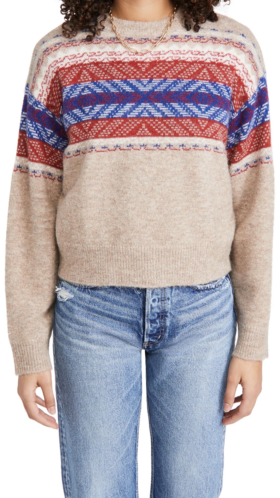 Rag & Bone Finlay Crew Sweater