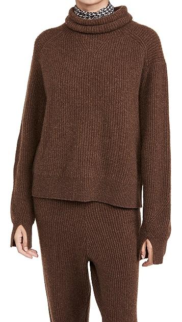 Rag & Bone Pierce Cashmere T Neck Sweater