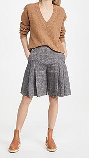 Rag & Bone Lani Pleated Shorts