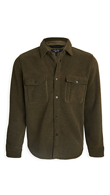 Rag & Bone Fleece Jack Shirt
