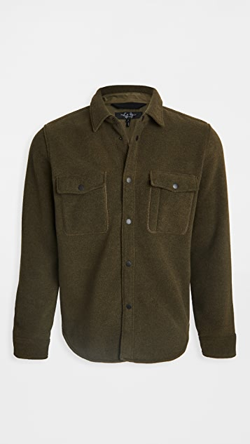 Rag & Bone Fleece Jack Shirt