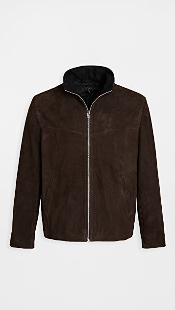 Rag & Bone Suede Grant Jacket
