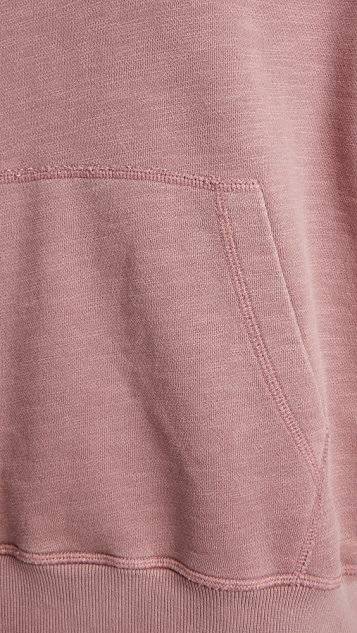 Rag & Bone Damon Garment Dye Hoodie