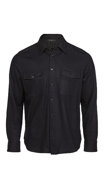 Rag & Bone Wool Shirt Jacket
