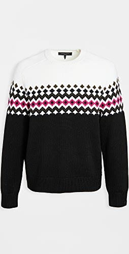Rag & Bone - Lloyd Fair Isle Crew Neck sweater