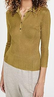 Rag & Bone Pacey Polo Sweater