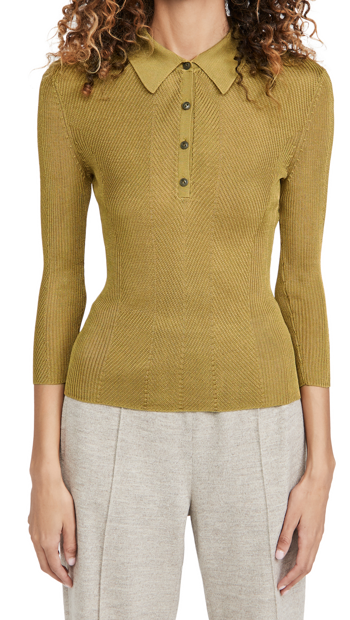 Rag & Bone Clothing PACEY POLO SWEATER