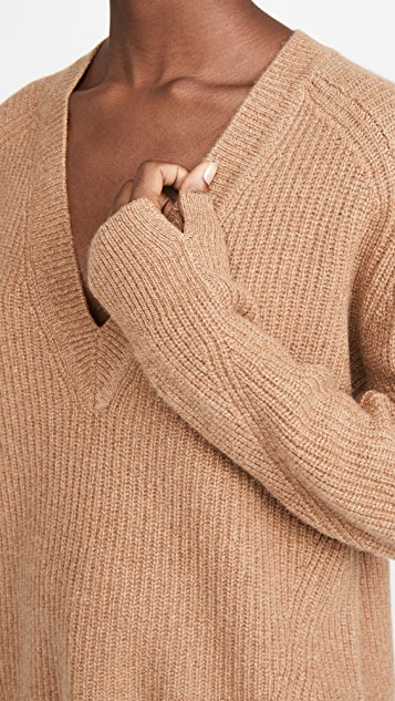 Rag & Bone Pierce Cashmere V Neck Sweater