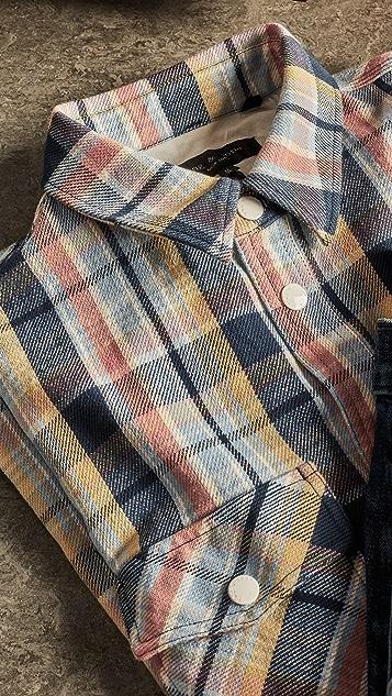 Rag & Bone Plaid Jack Shirt