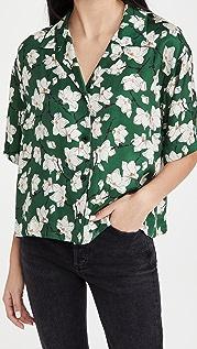 Rag & Bone 芦苇花卉衬衫