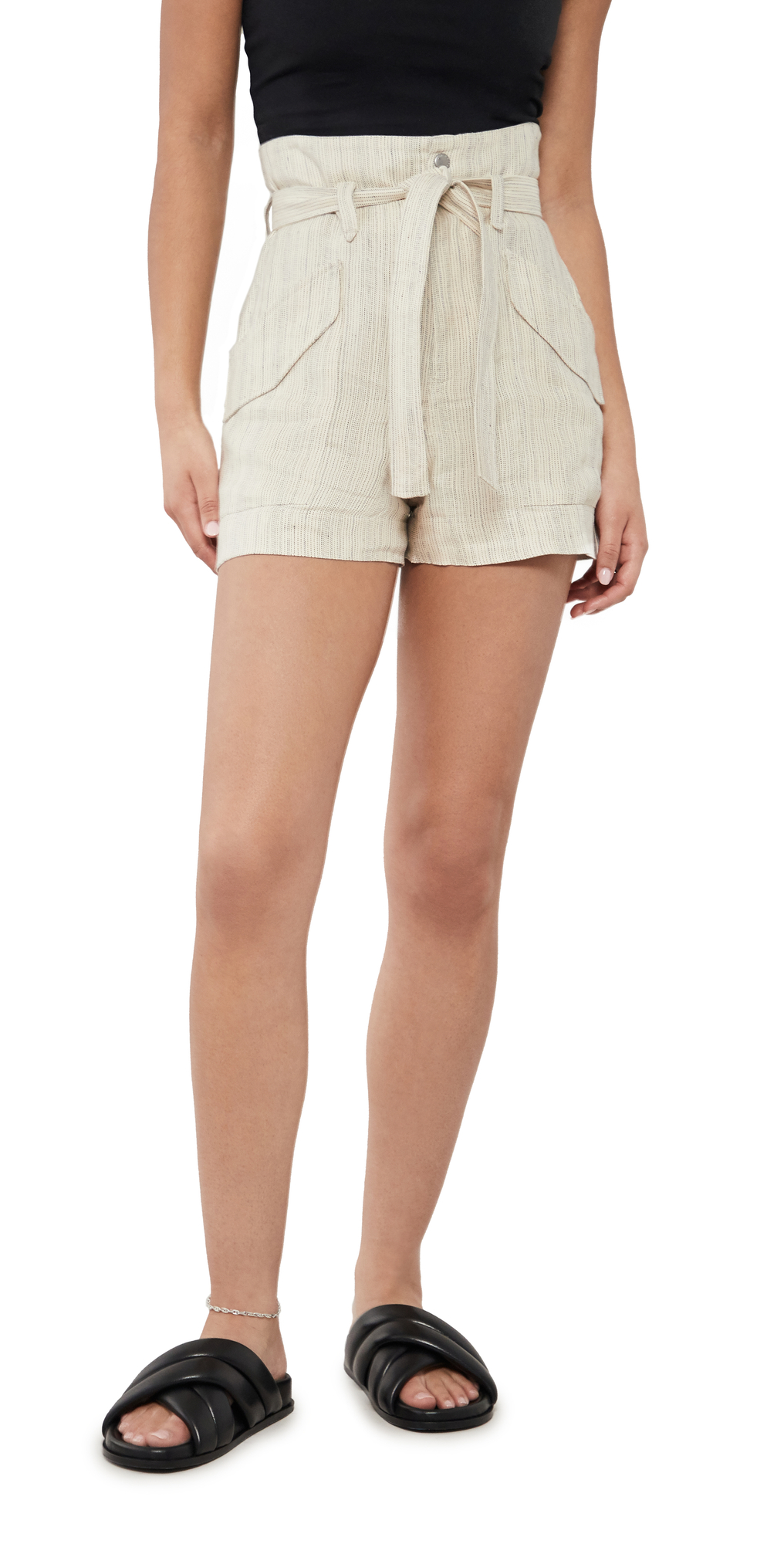Rag & Bone STRIPED CARGO SHORTS