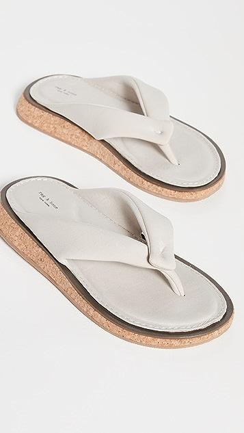 Rag & Bone Parque 夹趾凉鞋