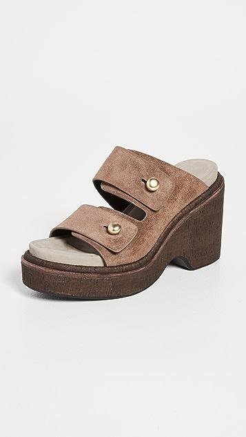 Rag & Bone 夏日坡跟凉鞋