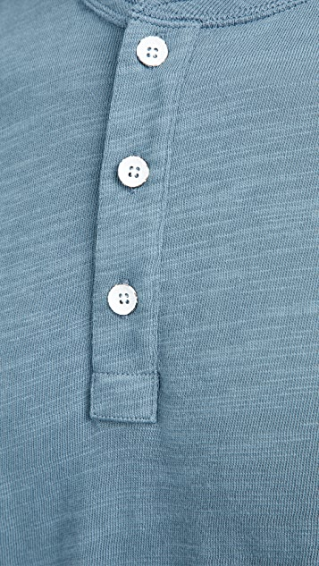 Rag & Bone Classic Short Sleeve Henley