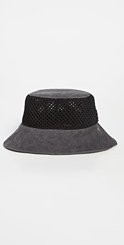 Rag & Bone - Nando Netting Bucket Hat