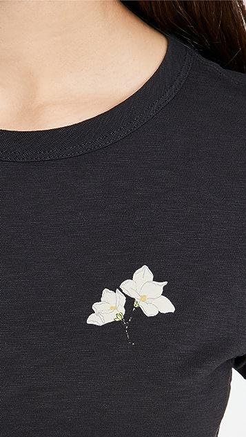 Rag & Bone Lily Flower Tee