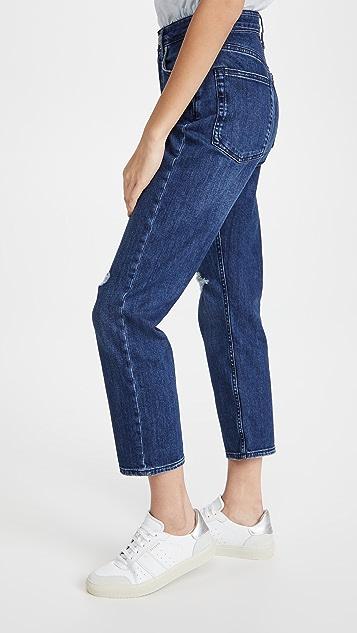 Rag & Bone Maya High-Rise Ankle Slim Jeans