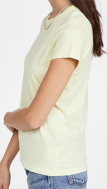 Rag & Bone 竹节纹 T 恤