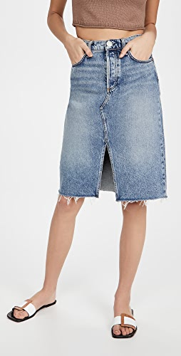 Rag & Bone - 高腰中长半身裙