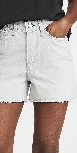 Rag & Bone - Maya High Rise Shorty Shorts