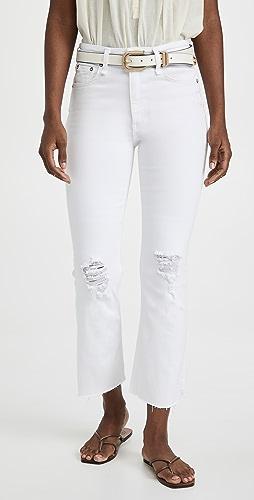 Rag & Bone - Nina High Rise Ankle Flare Jeans