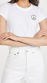 Rag & Bone 和平标志 T 恤