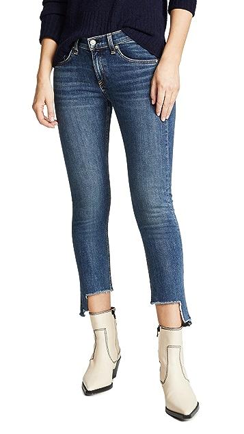 Rag & Bone Cate Mid Rise Ankle Skinny Jeans