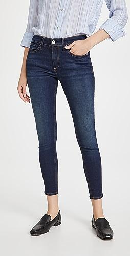 Rag & Bone - Cate Mid Rise Ankle Skinny Jeans