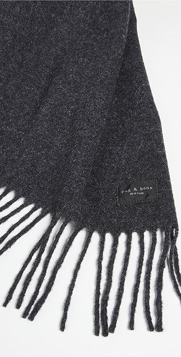 Rag & Bone Mercer Classic Recycled Wool Scarf
