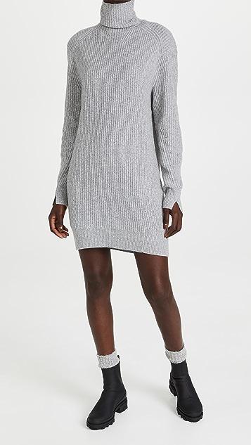 Rag & Bone Pierce Cashmere Turtleneck Dress