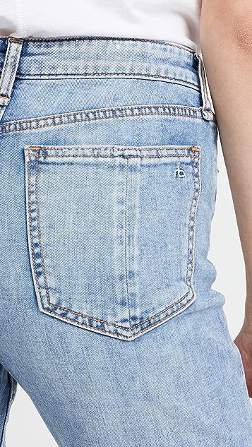 Rag & Bone Nina High Rise Ankle Cigarette Jeans