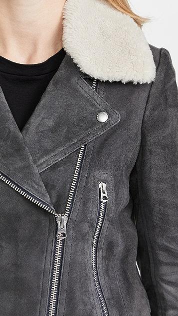 Rag & Bone Mack Suede Jacket