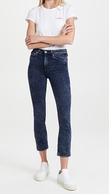 Rag & Bone Nina High Rise Ankle Skinny Jeans