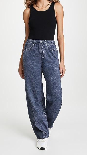 Rag & Bone Miramar Wide Leg Sweatpants
