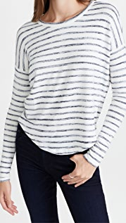 Rag & Bone The Knit Striped Long Sleeve