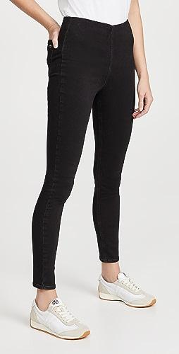 Rag & Bone - Nina Loopback Pull On Jeans