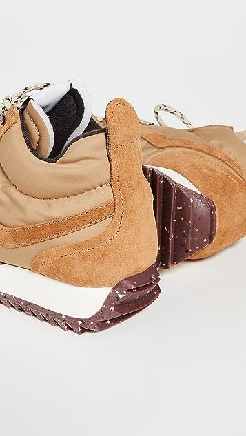 Rag & Bone 复古登山运动鞋
